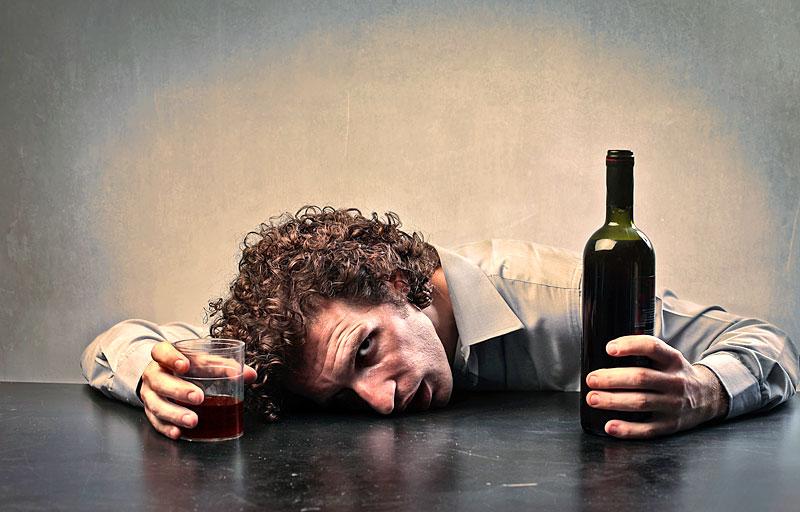 Die Kodierung vom Alkoholismus in rige