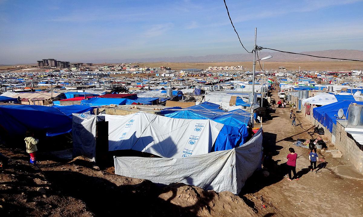 Flüchtlingscamp in Dohuk, Kurdistan (Foto: Paskee | Shutterstock)