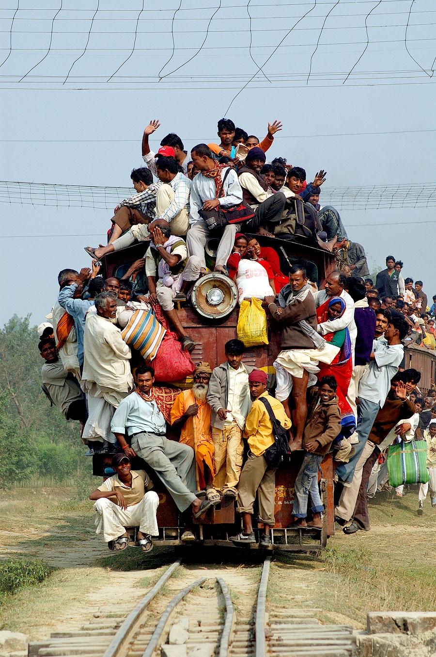 Indische Bahnreise