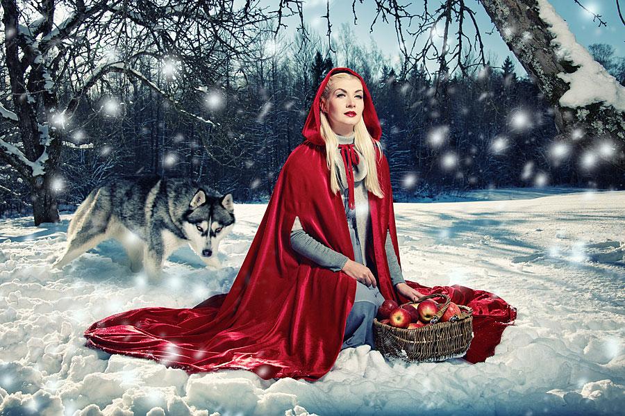 Rotkäppchen und der Wolf (Foto: Andrejs Pidjass | iStockphoto | Thinkstock)