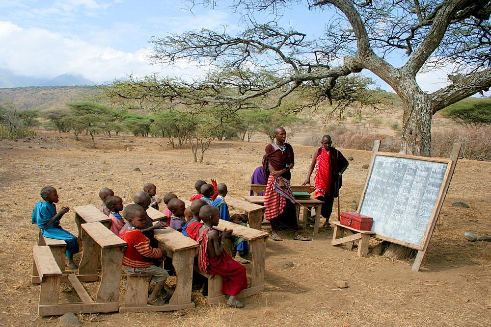 Massai Schule in Afrika (Foto: Carolyne | Dreamstime)