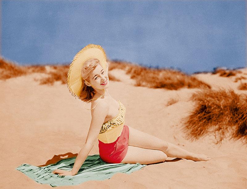 Blondes Strandgirl (Foto: DigitalVision | Thinkstock)