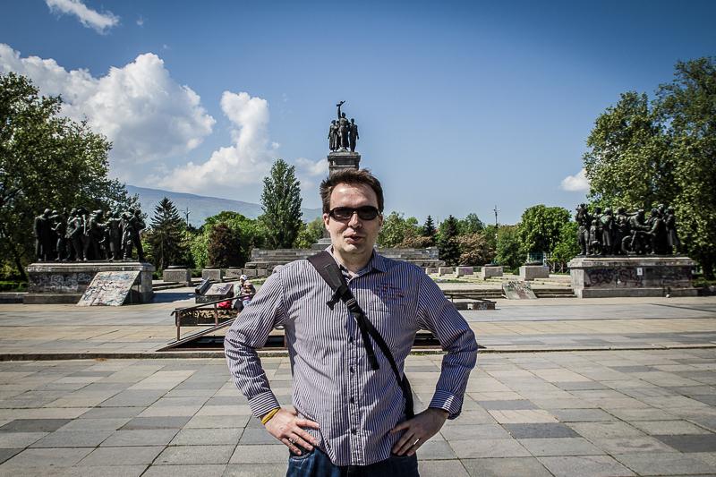 Mir wächst in Sofia ein Denkmal aus dem Kopf
