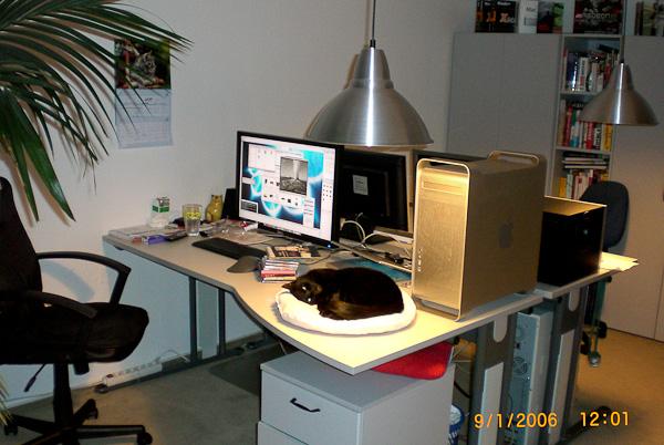 mein Arbeitsplatz 2006
